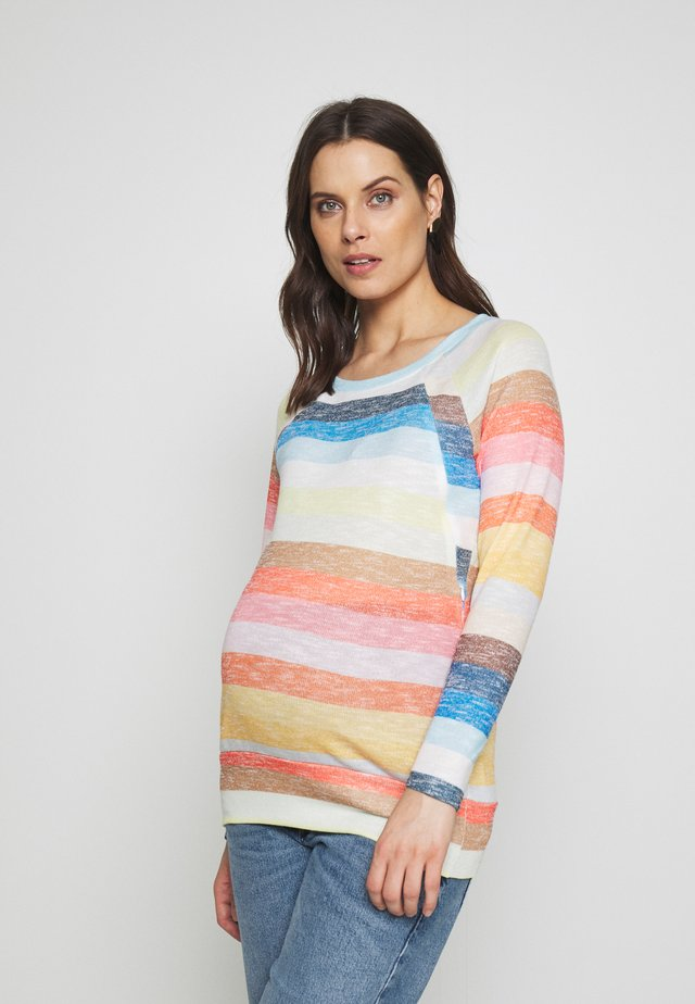 SWEATER NURSING RAINBOW - Jersey de punto - multi-coloured