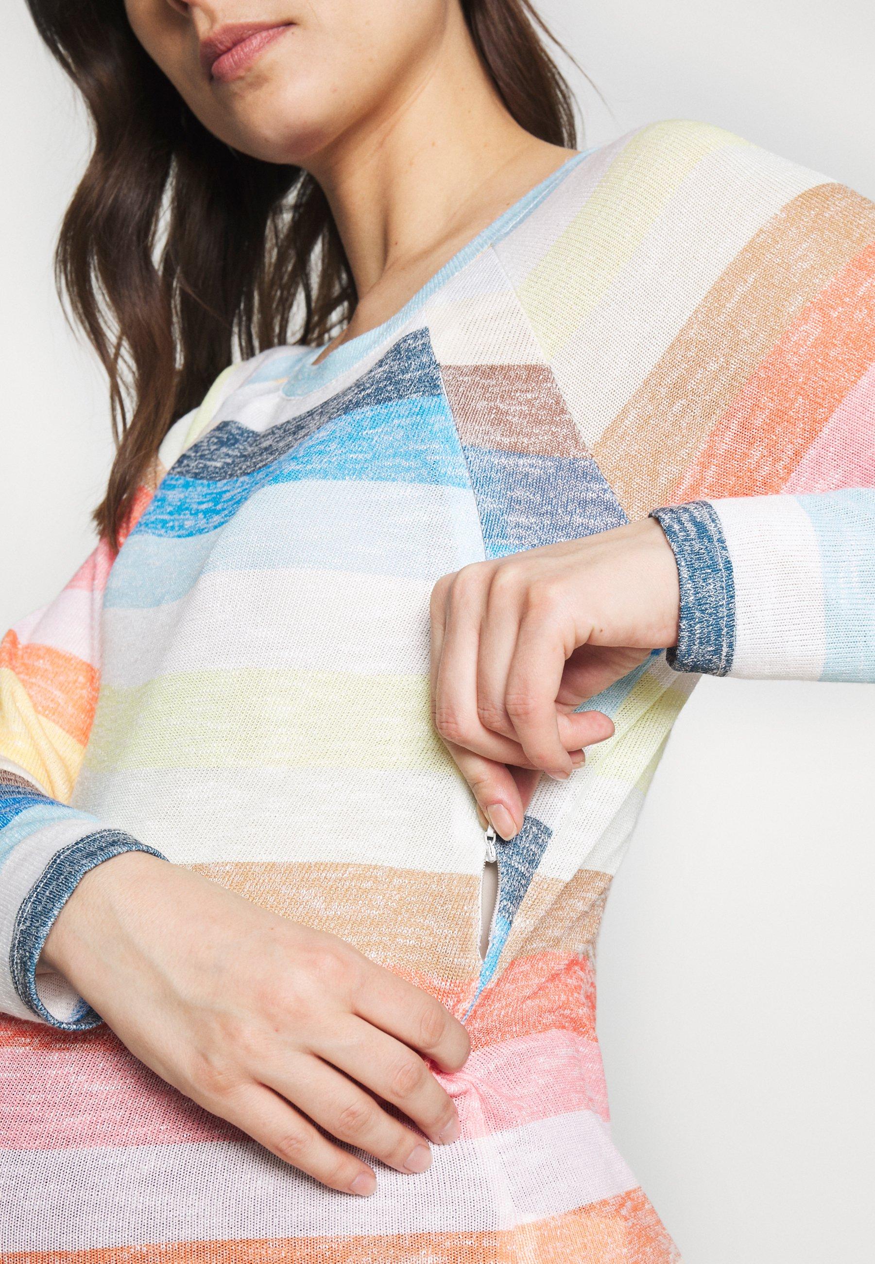 LOVE2WAIT SWEATER NURSING RAINBOW - Sweter - multi-coloured