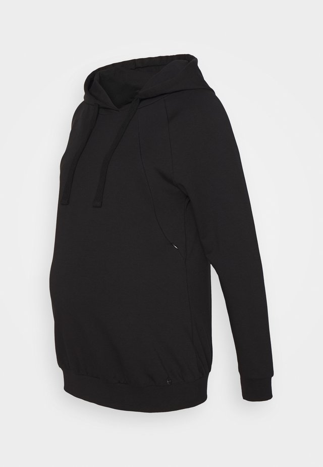 HOODY NURSING - Sweatshirt - black