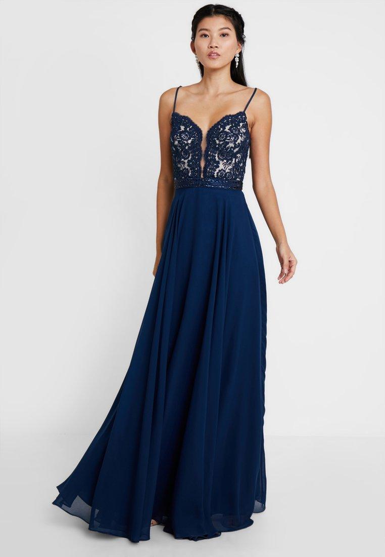 Luxuar Fashion - Occasion wear - blau/nude