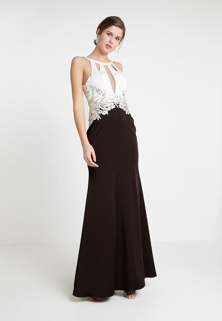 Luxuar Fashion - Ballkleid - schwarz/weiß