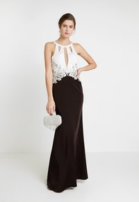 Luxuar Fashion - Ballkjole - schwarz/weiß - 1