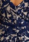 Luxuar Fashion - Ballkleid - blau/nude