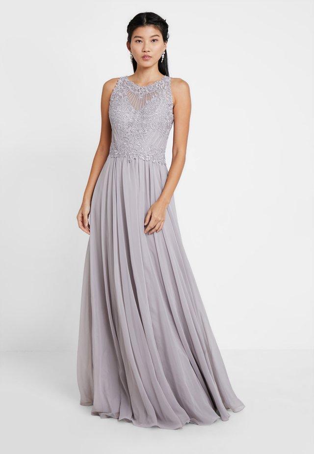 Festklänning - silber grau