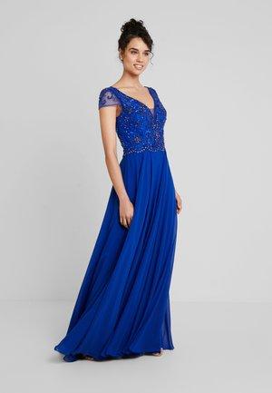 Společenské šaty - royalblau
