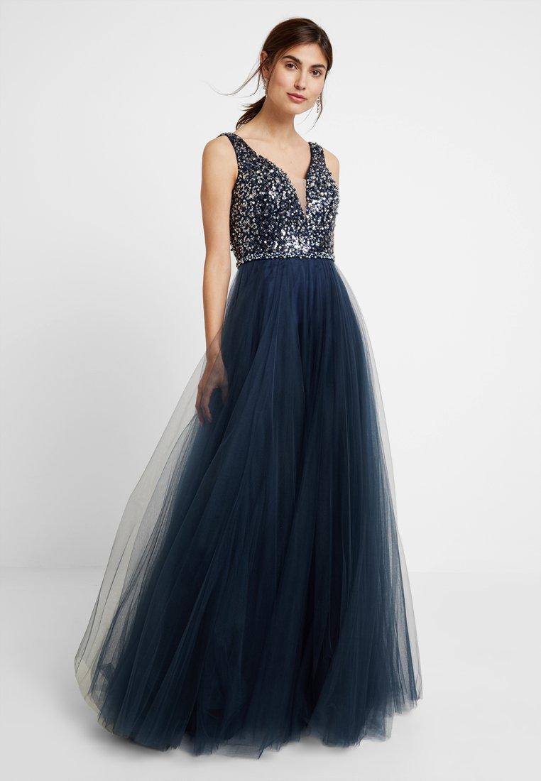 Luxuar Fashion - Ballkjole - mitternachtsblau