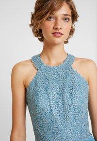 Luxuar Fashion - Společenské šaty - rauchblau - 4