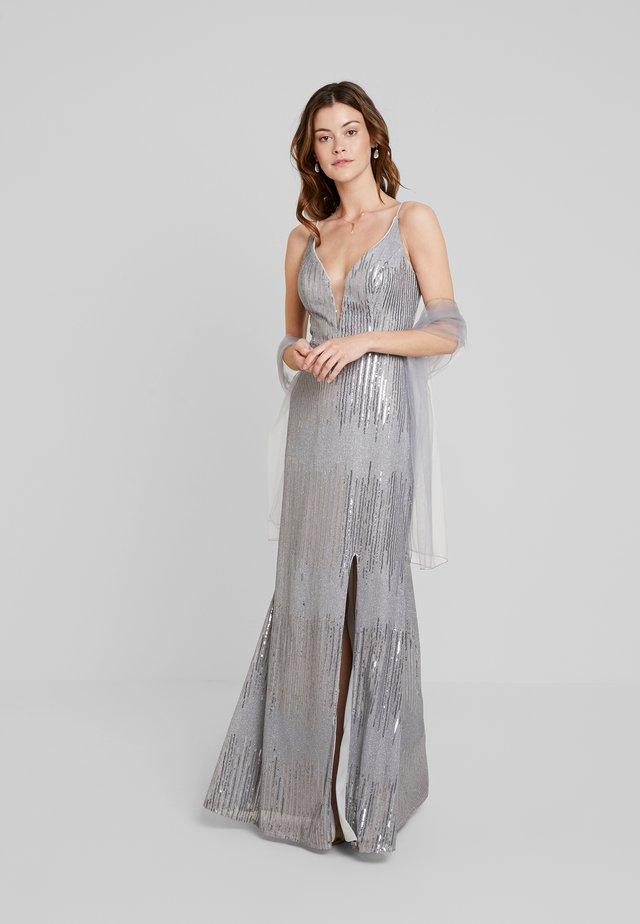 Společenské šaty - silber