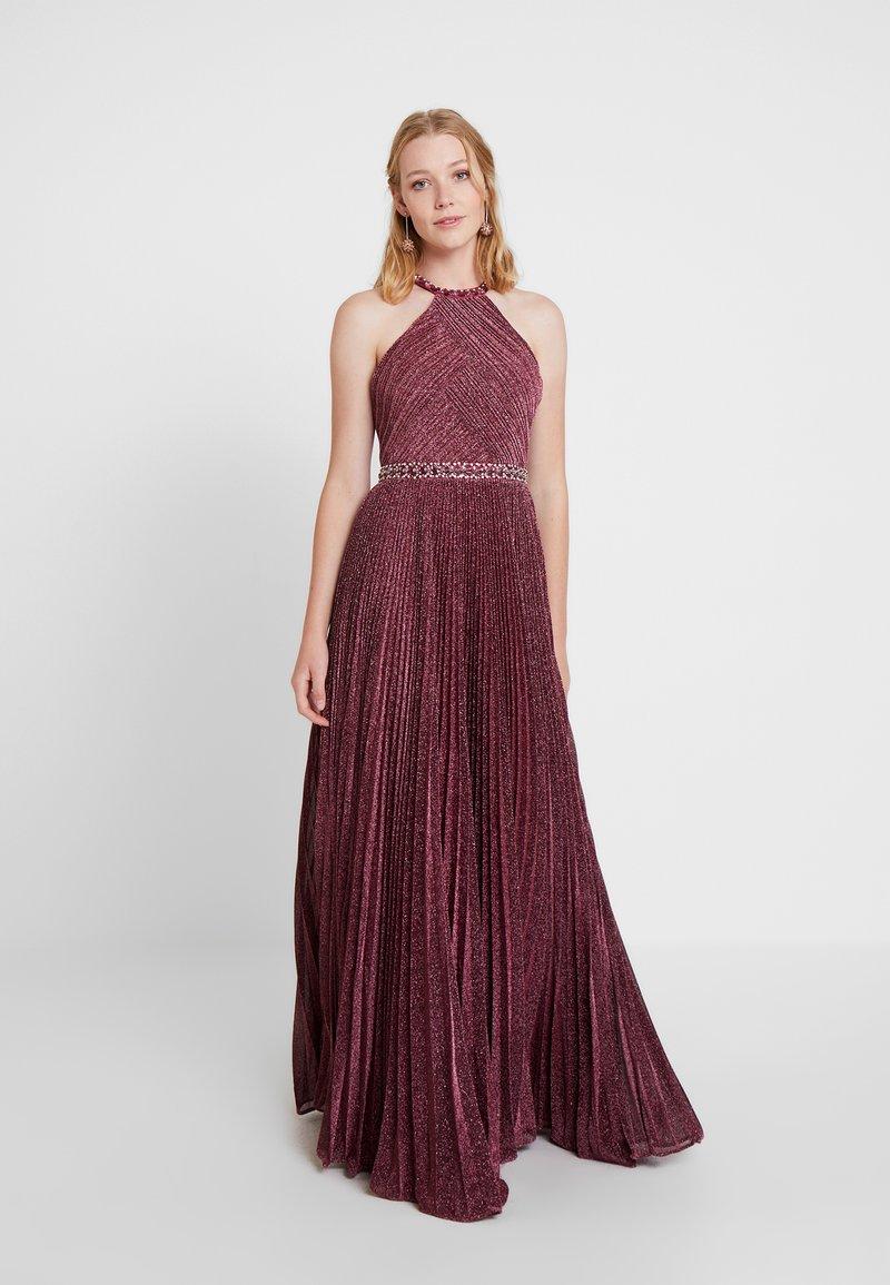 Luxuar Fashion - Gallakjole - weinrot