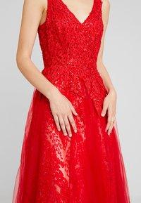 Luxuar Fashion - Společenské šaty - rot - 7