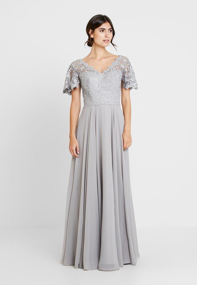 Suknia balowa - silber grau