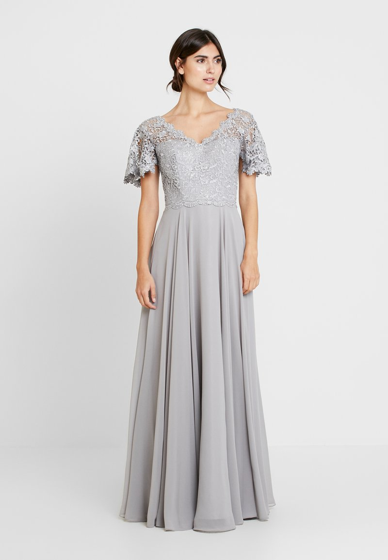 Luxuar Fashion - Abito da sera - silber grau