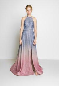Luxuar Fashion - Iltapuku - blaugrau/rosé - 0