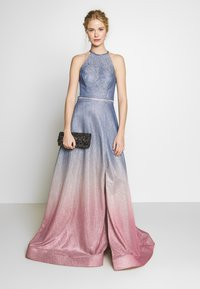 Luxuar Fashion - Iltapuku - blaugrau/rosé - 1