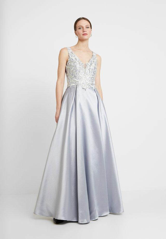 Společenské šaty - silber/grau