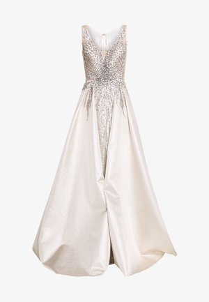 Společenské šaty - champagner