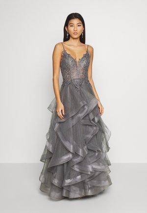 Festklänning - grau