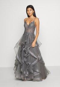 Luxuar Fashion - Vestido de fiesta - grau - 2