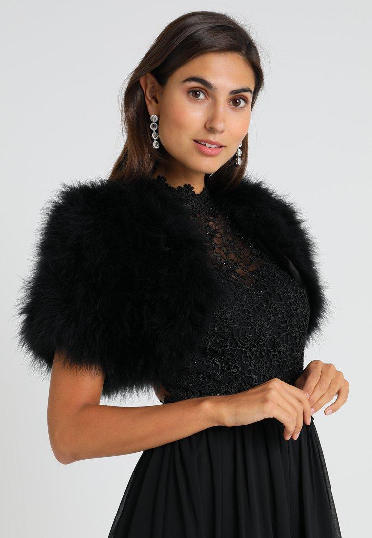 Luxuar Fashion - Cape - schwarz