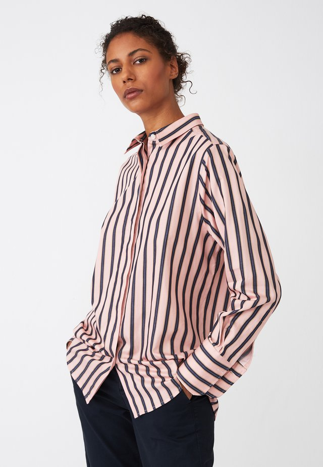 CLASSIC FIT - Button-down blouse - pink multi stripe