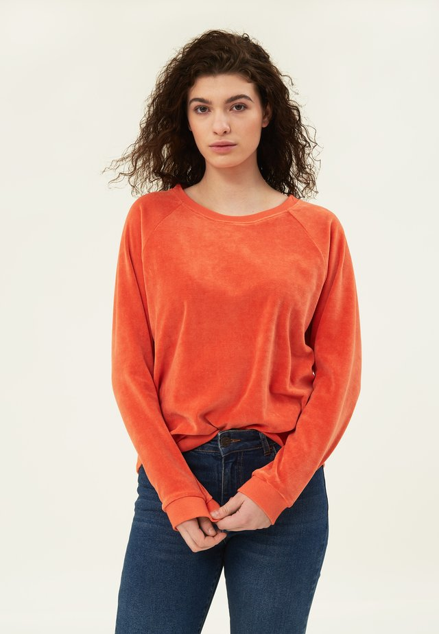 MARTHA  - Sweatshirt - orange