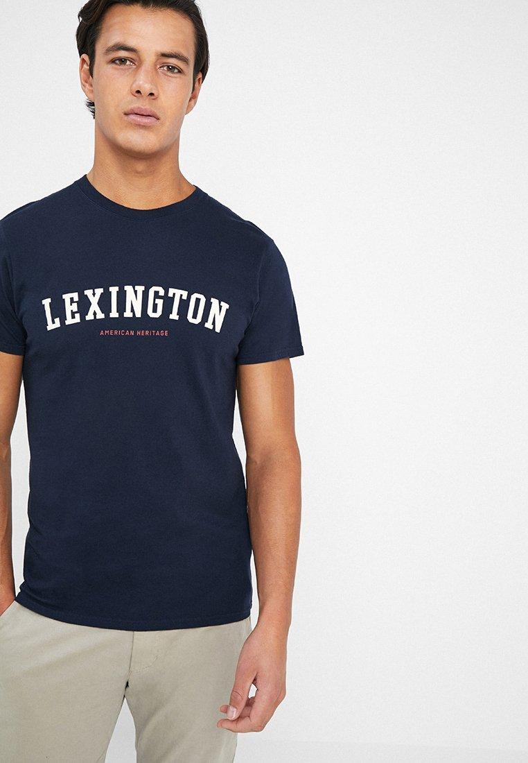 Lexington - JUSTIN TEE - Print T-shirt - deepest blue