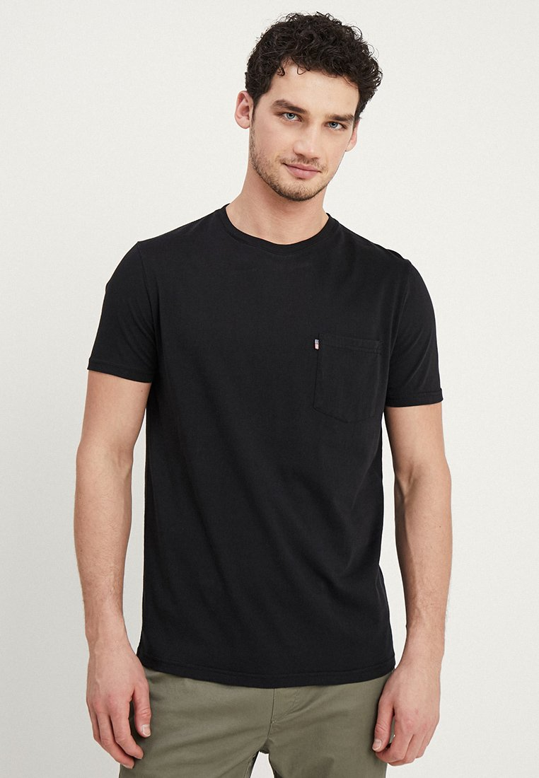 Lexington - TRAVIS TEE - Basic T-shirt - caviar black
