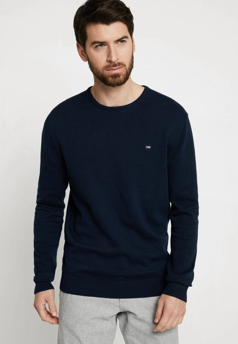 Lexington - BRADLEY CREWNECK SWEATER - Jumper - navy blue