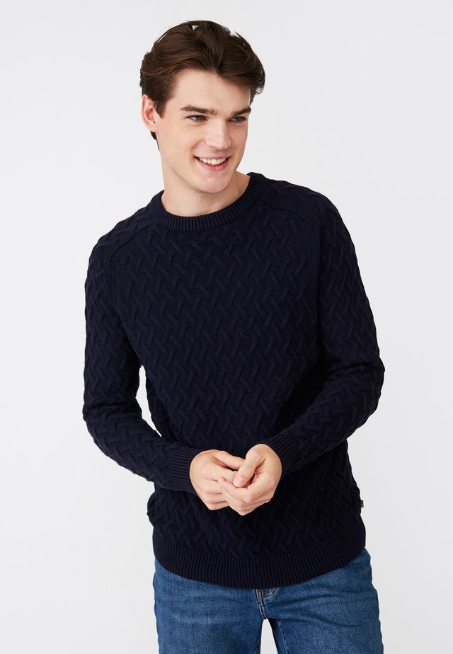 CLASSIC FIT - Jumper - dark blue