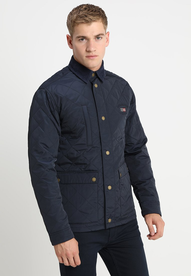 Lexington - HUNTER QUILTED JACKET - Übergangsjacke - deepest blue
