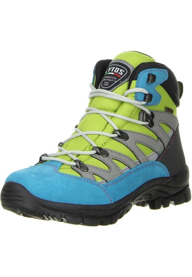 Hiking shoes - türkis/grün