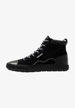 CAIRNS - High-top trainers - true black