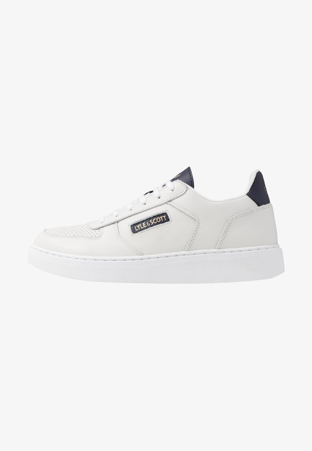 MCMAHON - Sneakers basse - white/dark navy
