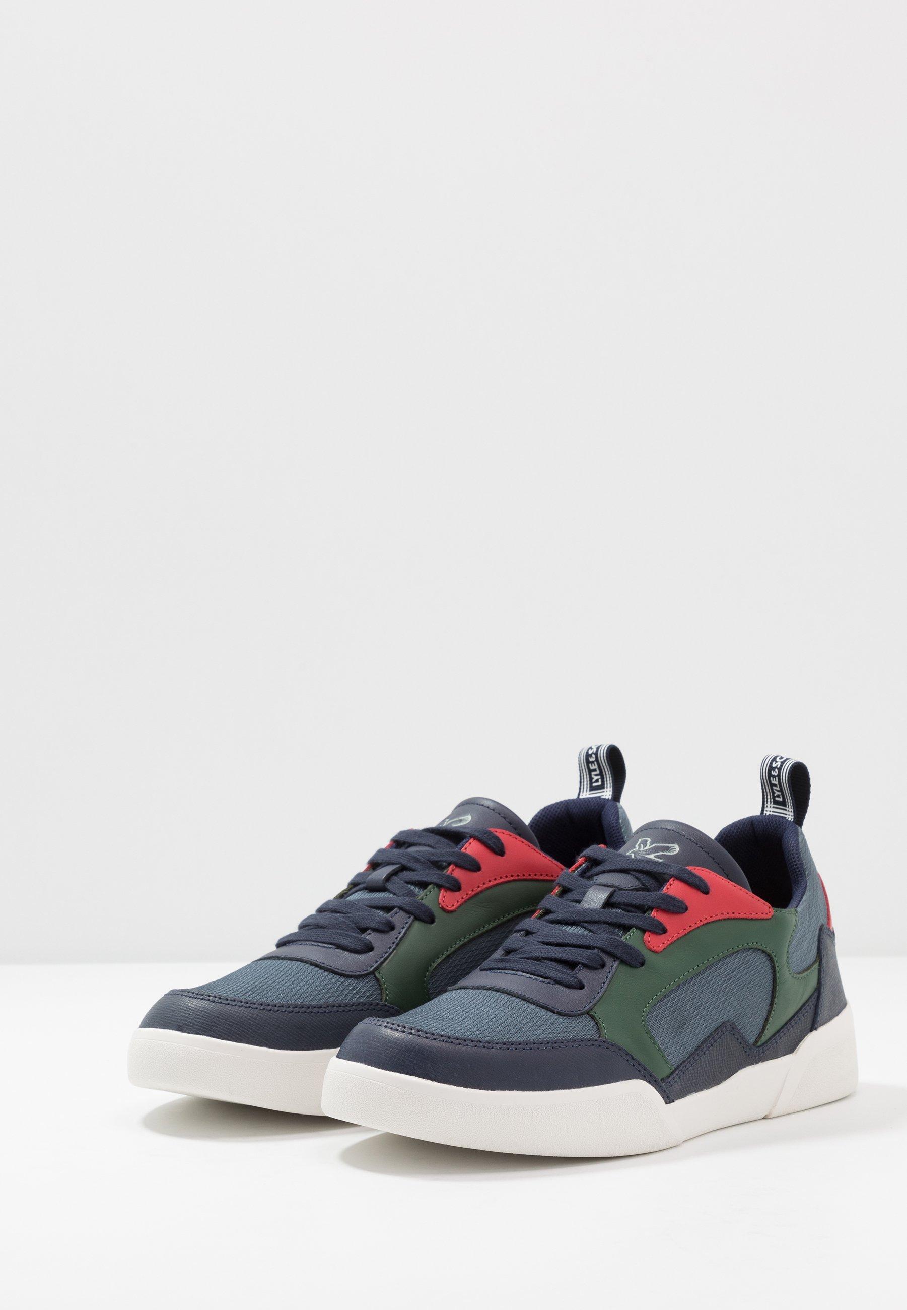 Lyle & Scott MONCUR - Sneakersy niskie - dark navy/orion blue