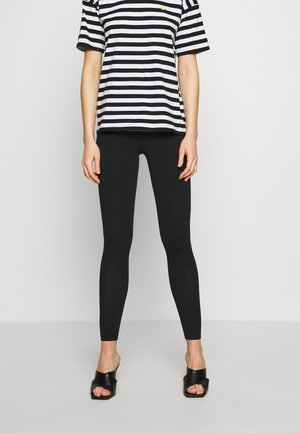 Leggings - Trousers - jet black