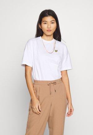OVERSIZED - T-shirts basic - white