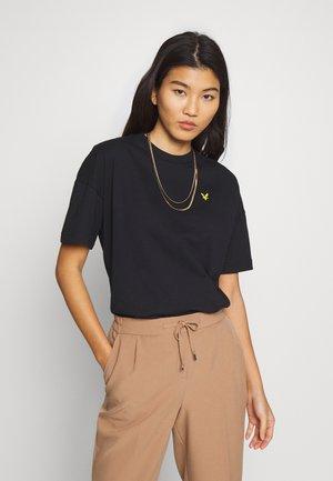 OVERSIZED - Basic T-shirt - jet black