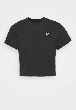 CROPPED - T-shirts - jet black