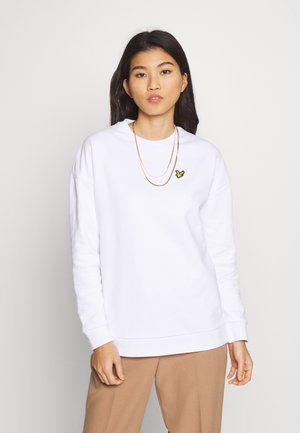 OVERSIZED  - Sweatshirt - white