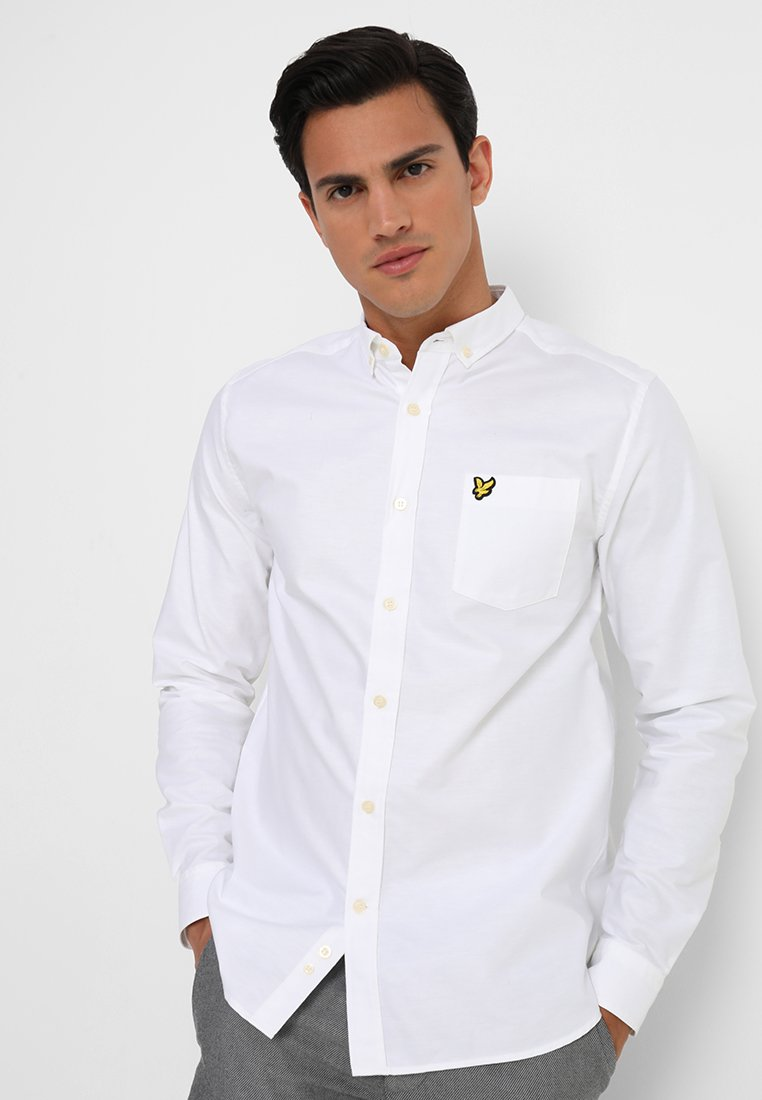 Lyle & Scott - OXFORD - Overhemd - white