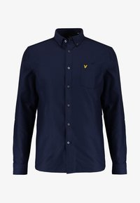 Lyle & Scott - REGULAR FIT  - Vapaa-ajan kauluspaita - dark blue - 4