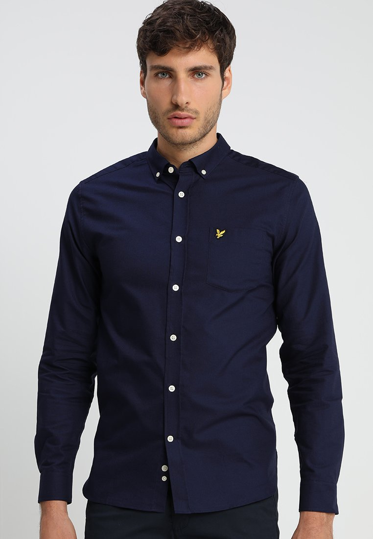 Lyle & Scott - REGULAR FIT  - Vapaa-ajan kauluspaita - dark blue