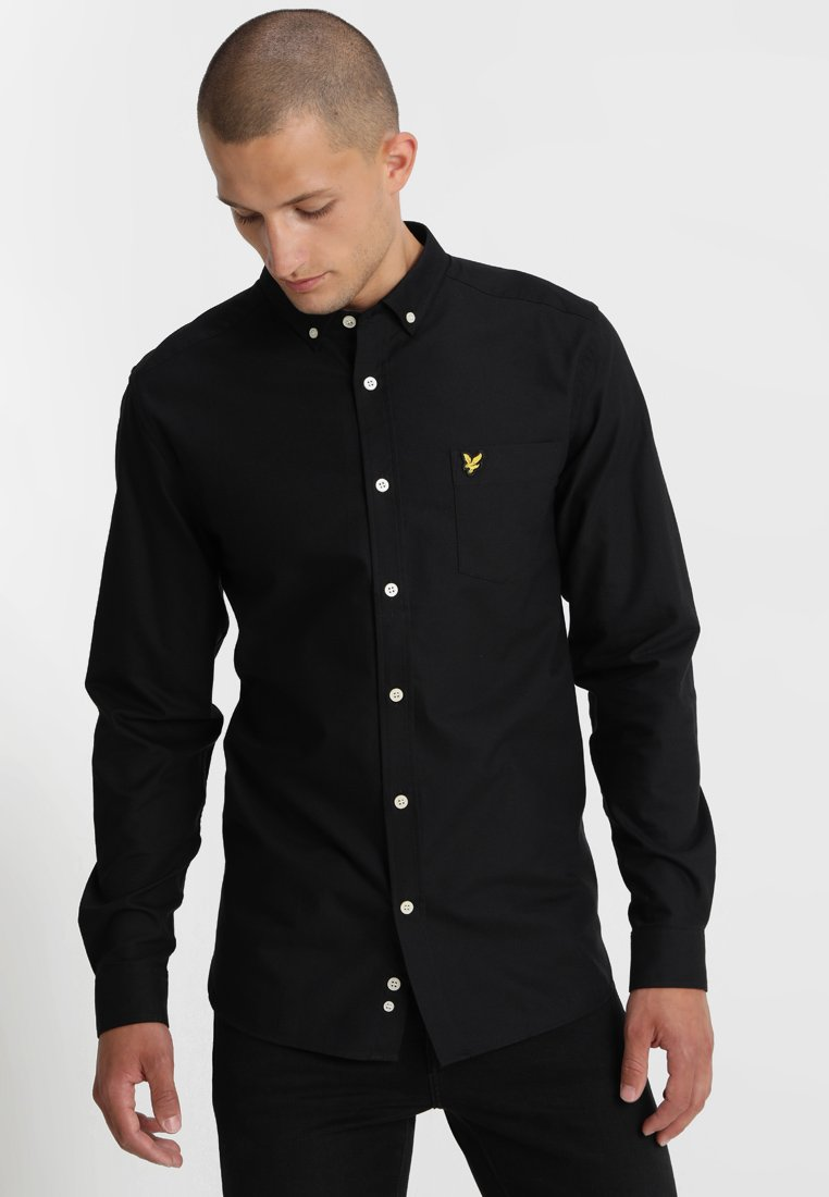 Lyle & Scott - OXFORD - Camicia - true black