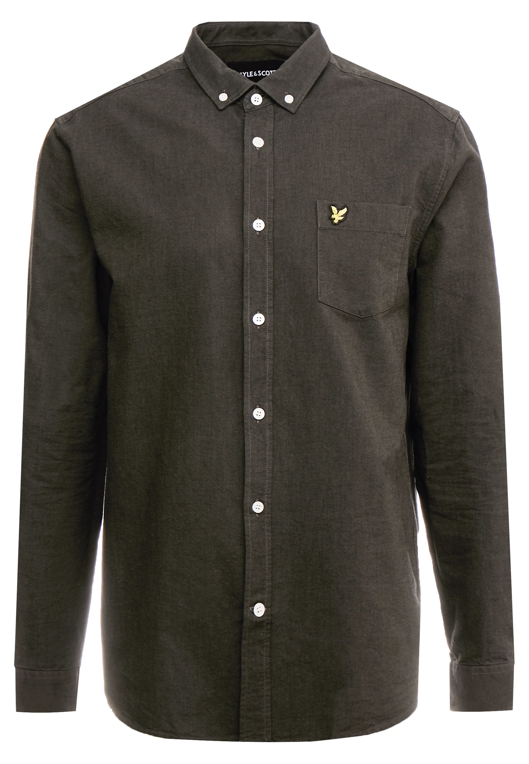 Lyle & Scott Regular Fit - Skjorter True Black/olive