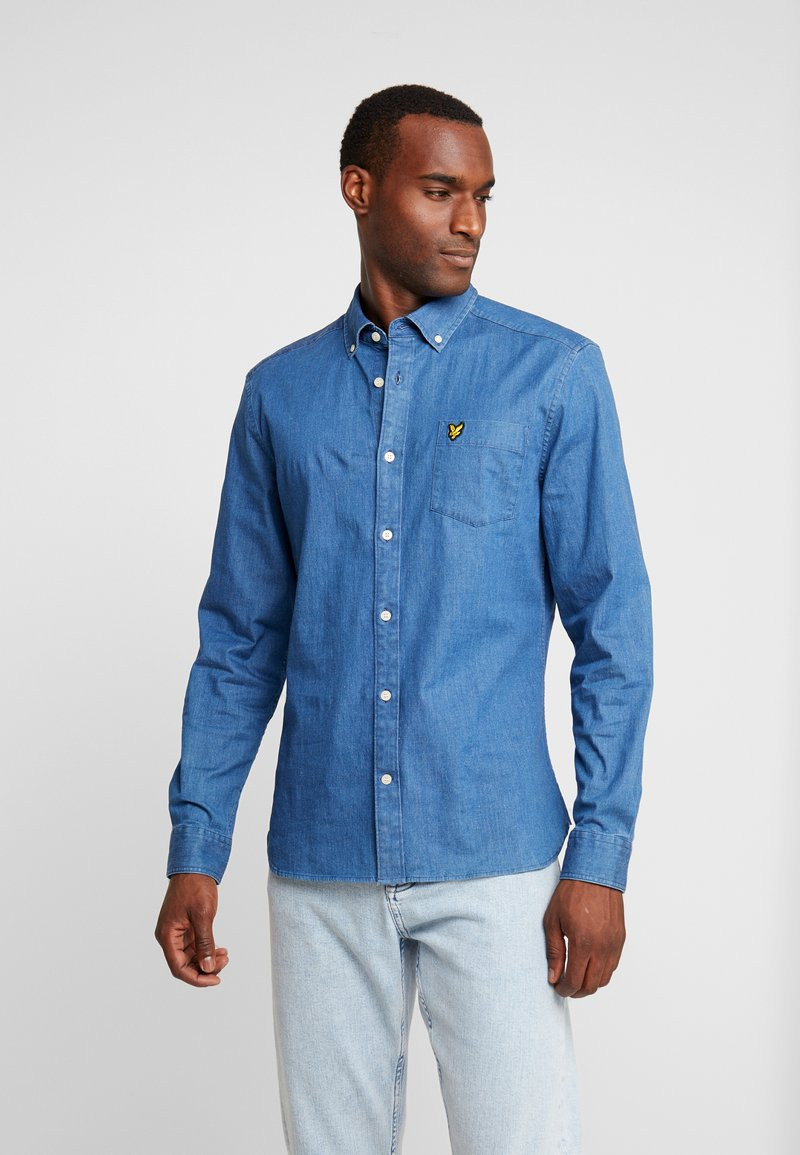 Lyle & Scott - SLIM FIT  - Shirt - light indigo