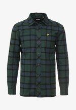 TARTAN OVERSHIRT - Shirt - jade green
