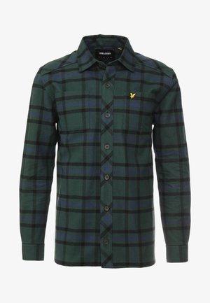 TARTAN OVERSHIRT - Overhemd - jade green