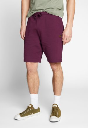 Teplákové kalhoty - merlot