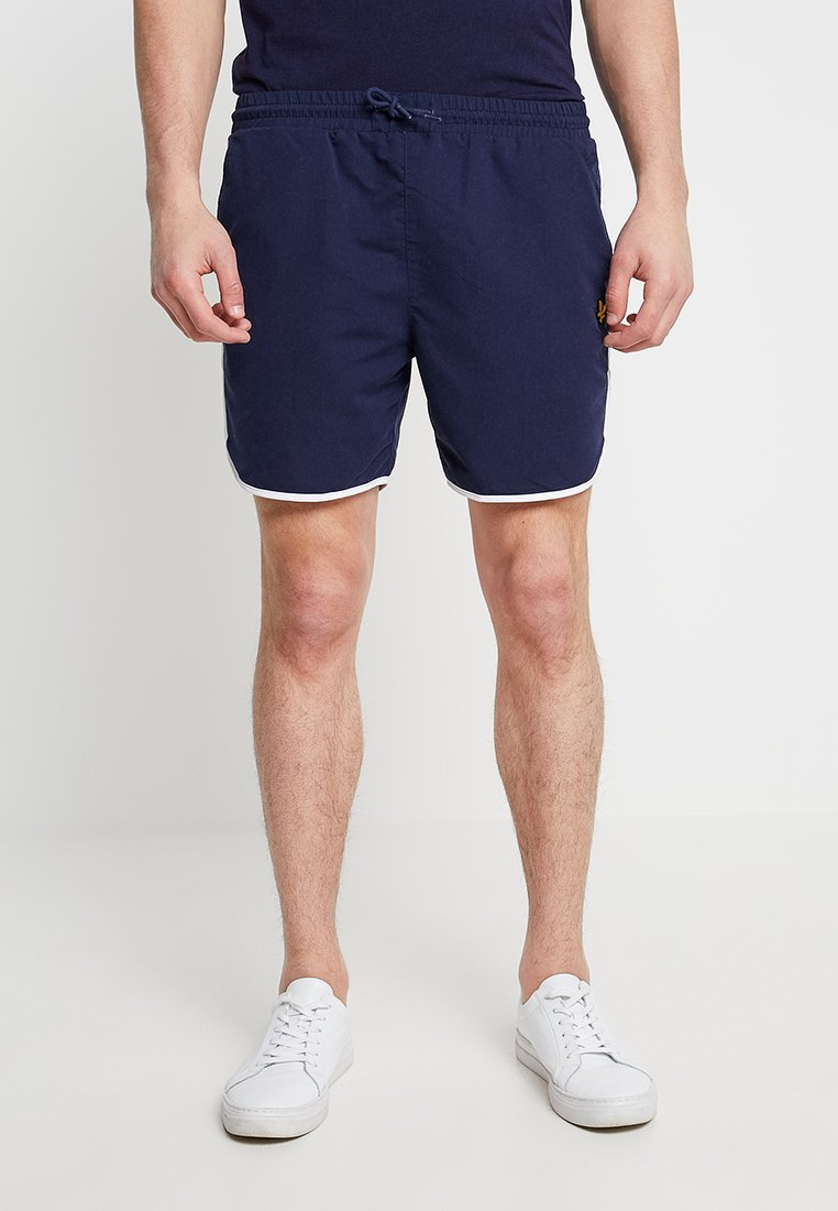 Lyle & Scott - PIPING - Shorts - navy