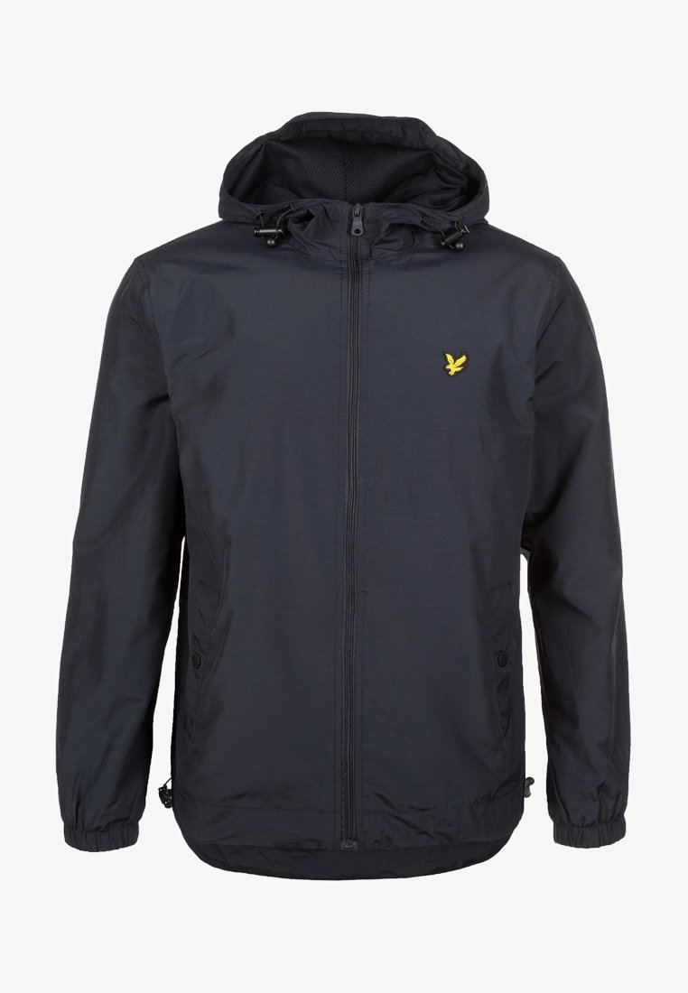 Lyle & Scott - ZIP THROUGH HOODED JACKET - Let jakke / Sommerjakker - dark blue